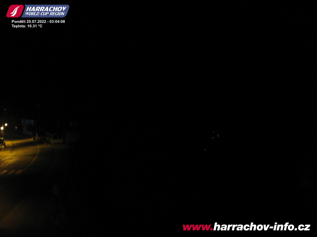 Webcam Skigebiet Harrachov Ort - Riesengebirge