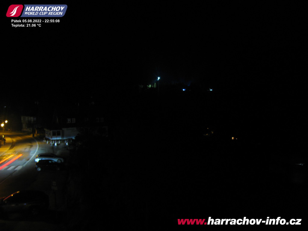 Webcam Skigebied Harrachov Ort - Reuzengebergte
