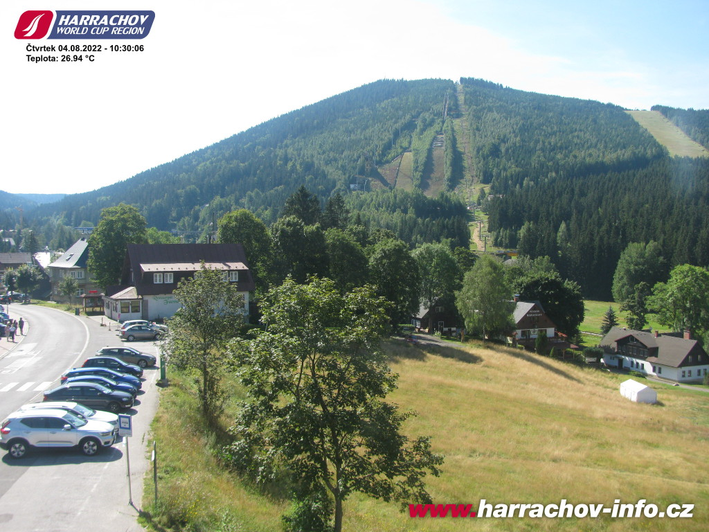 Webcam Ski Resort Harrachov Ort - Giant Mountains