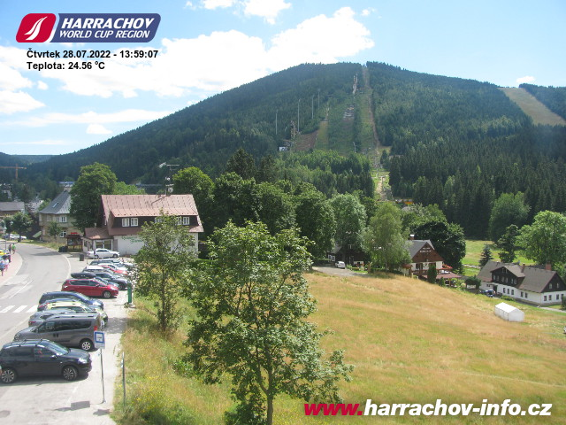 Webcams Harrachov